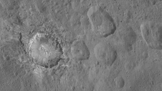 Haulani crater, Ceres