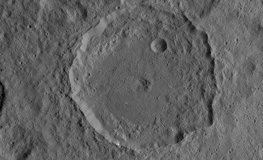 Gaue crater, Ceres