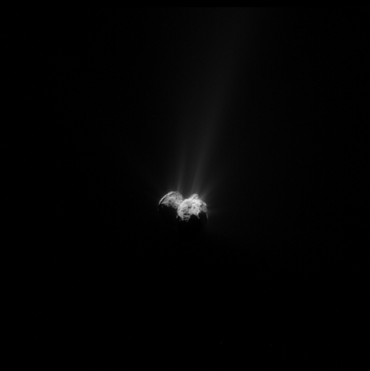 Churyumov-Gerasimenko on September 23, 2015