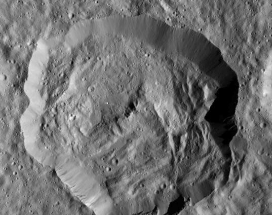 Victa crater