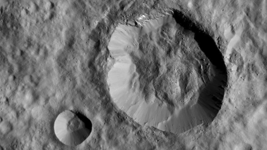 Unnamed craters on Ceres