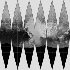 Make your own Pluto globe