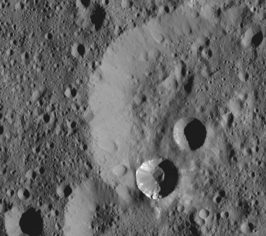 Scars on Ceres