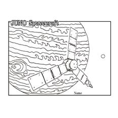 Juno coloring page by Go Miyazaki