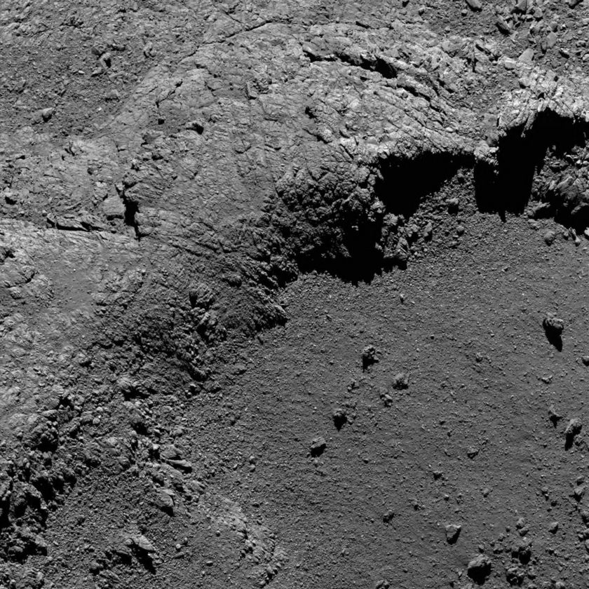 Comet close-up, August 30, 2016