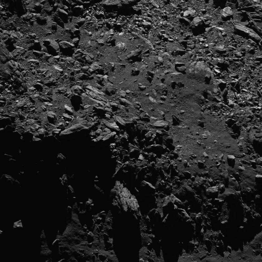 Comet boulders, September 2, 2016