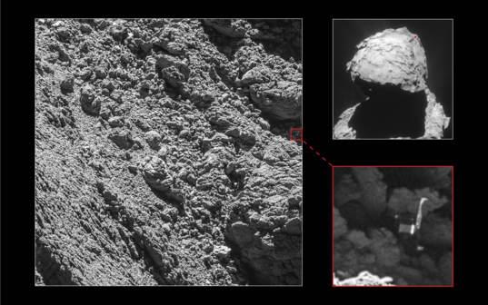 Philae found!