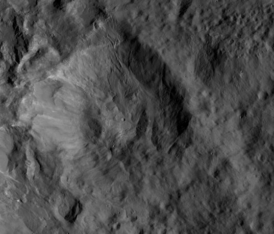 Kupalo crater ejecta