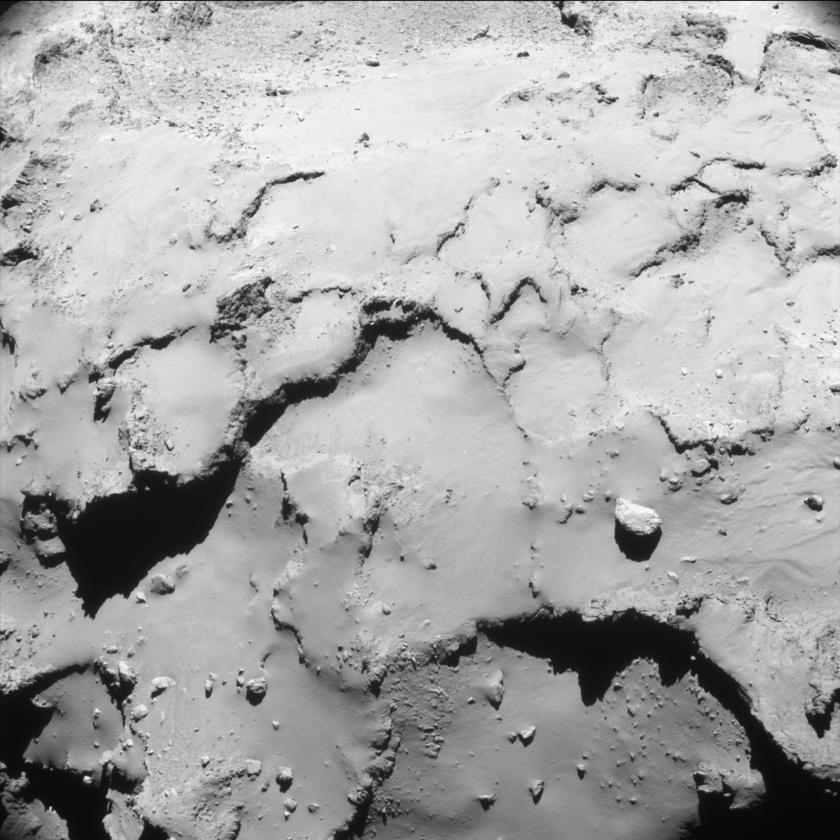 Rosetta's final NavCam image