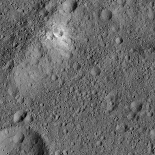 Kerwan Crater northwest rim