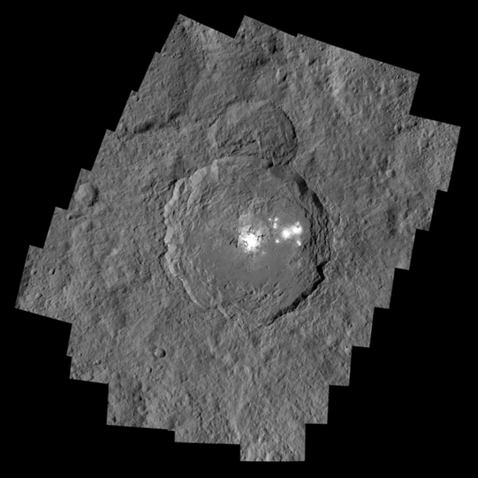 Occator Crater mosaic