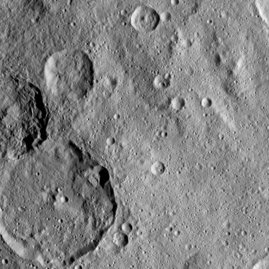 Jarimba and Kondos craters