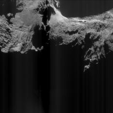 Comet 67P before...