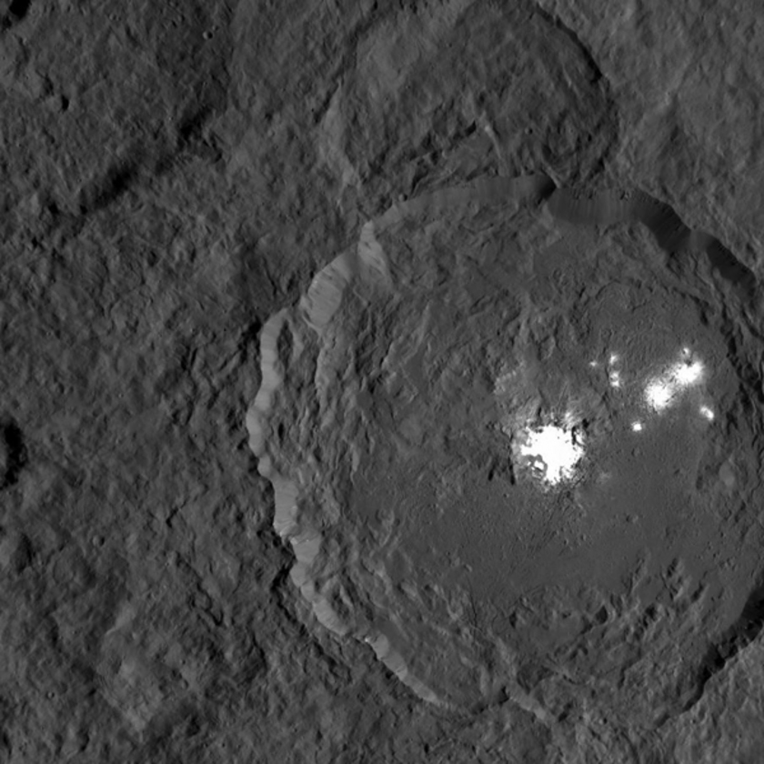 Occator Crater snapshot