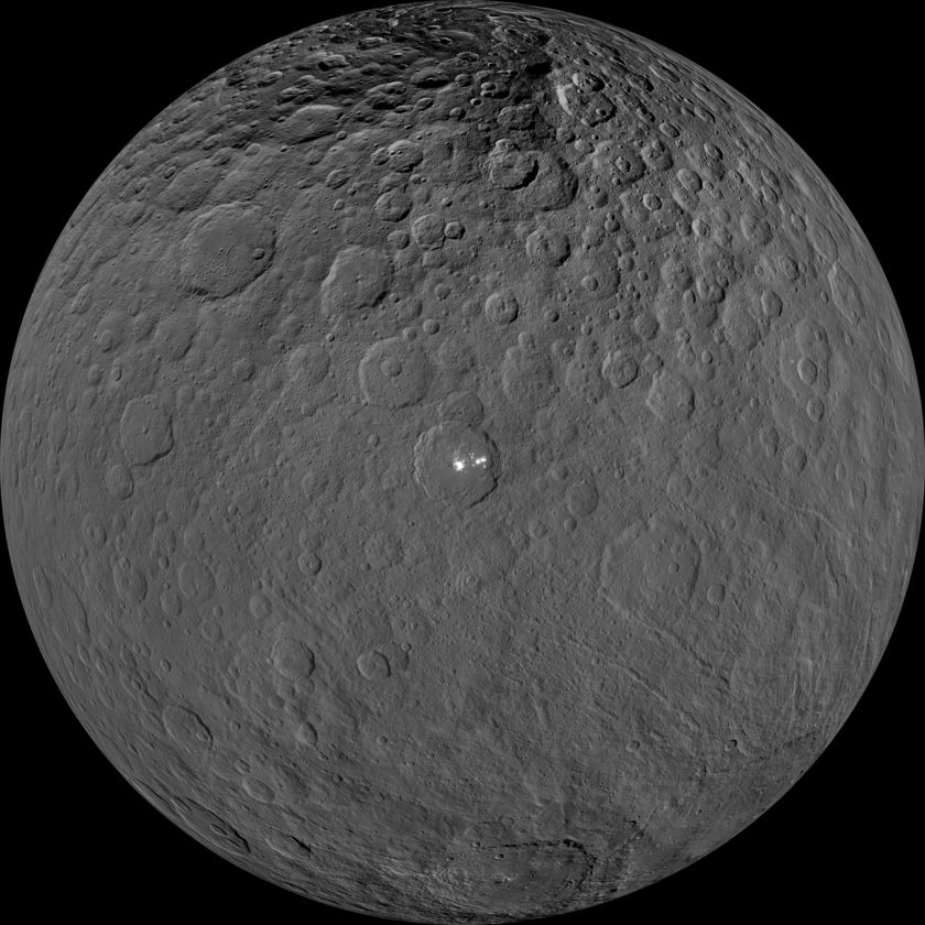 Mosaic of Ceres