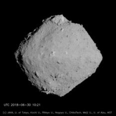 Ryugu global view 2, 20 km