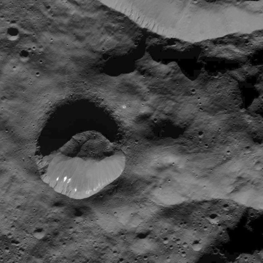 Part of Sekhet Crater