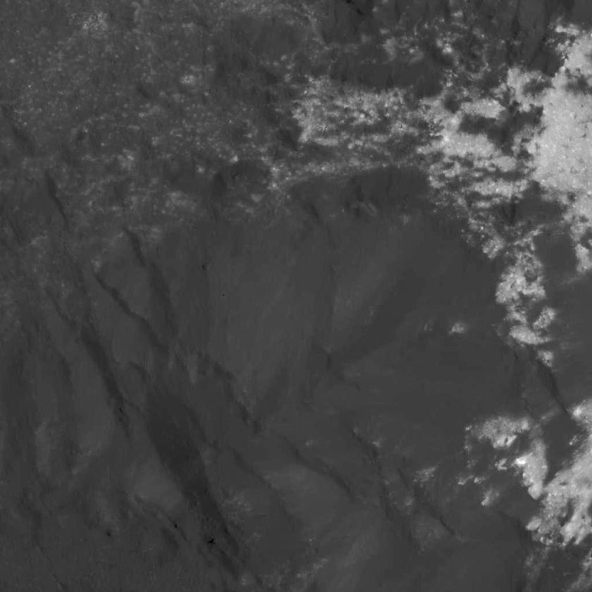 Northwestern edge of Cerealia Facula