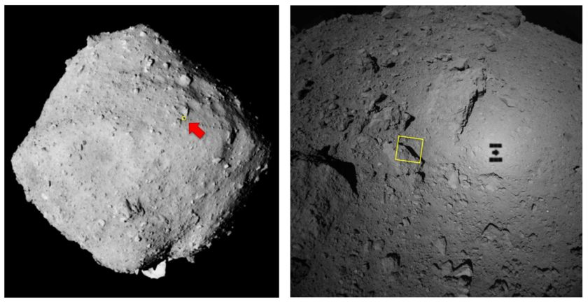 Ryugu from 64 meters (context images)