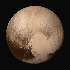 Then & Now: Pluto