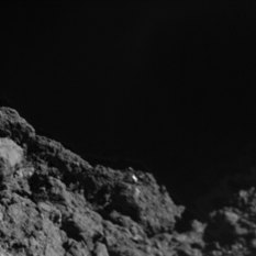 The surface of Ryugu from a few meters away