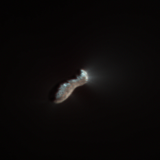 Comet 103P/Hartley 2 from Deep Impact, in color