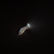 Comet 103P/Hartley 2 from Deep Impact, in color