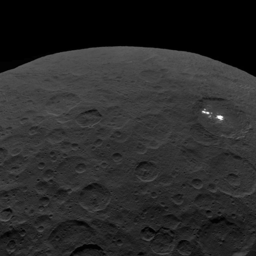 Gazing over Ceres