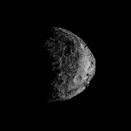 Bennu from the south, 17 December 2018