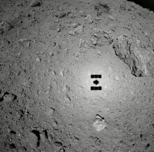 47 meters above Ryugu
