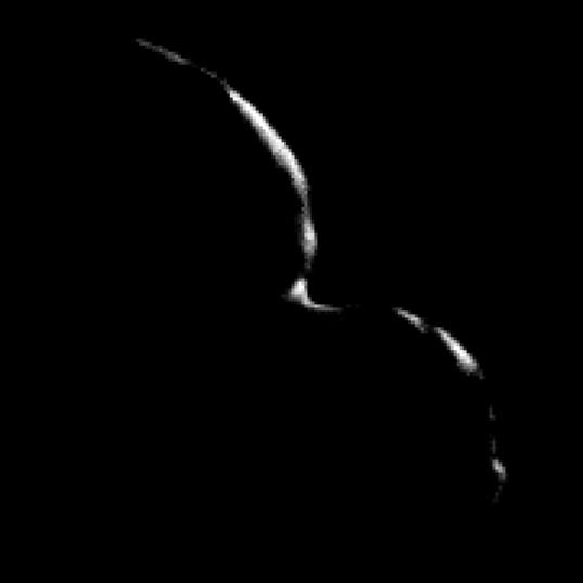 MU69's crescent