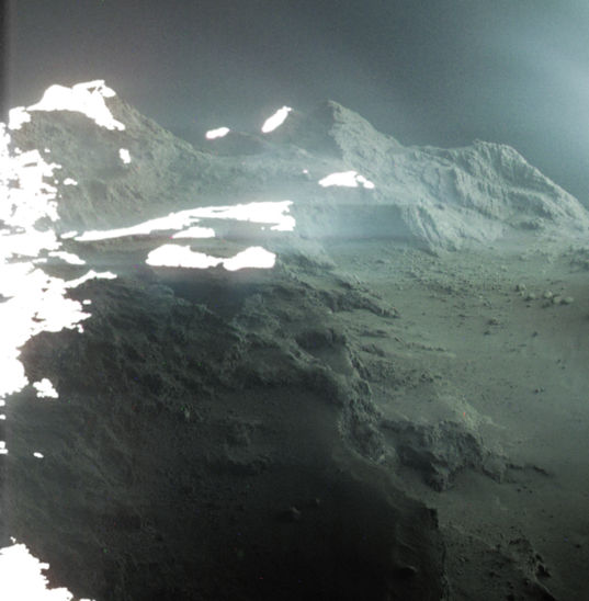 Comet landscape: Seth region