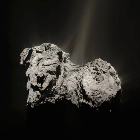 Perihelion comet