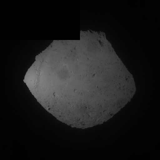 Hayabusa2 final Ryugu image before SCI operation