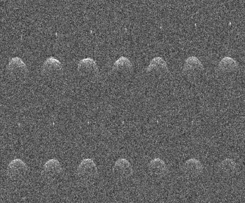 Radar images of asteroid 65803 Didymos