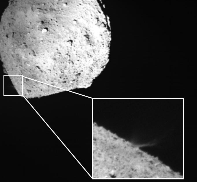 Hayabusa2 SCI impact (DCAM3 digital camera)
