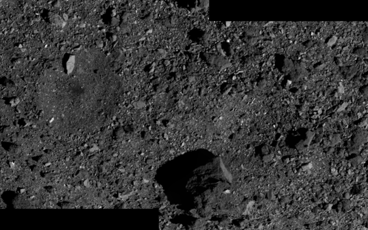Bennu panorama from Baseball Diamond phase