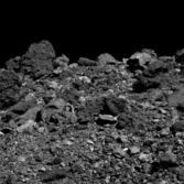 View of the North from Bennu's Southern Hemisphere
