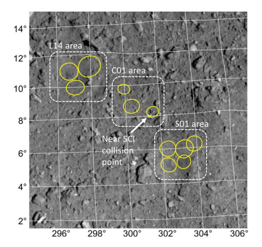 Hayabusa2 second touchdown candidate sites