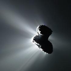 Comet Silhouette