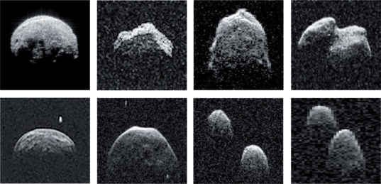 Rogue's Gallery of Radar-Imaged Near-Earth Asteroids