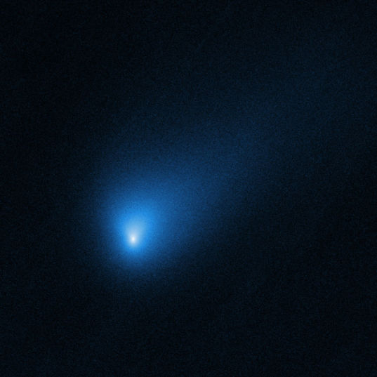 Comet 2I/Borisov from Hubble