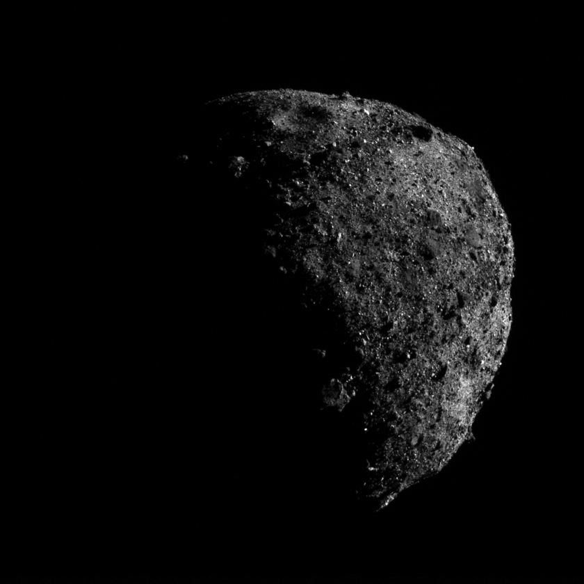 Bennu during Orbital A phase (2)