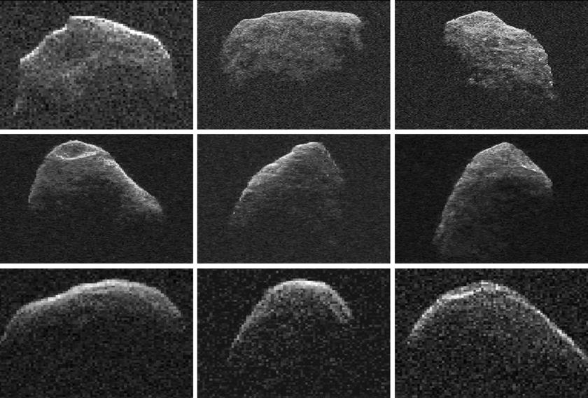 Asteroid Apophis radar images