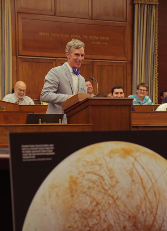 Bill Nye Discussing the Lure of Europa