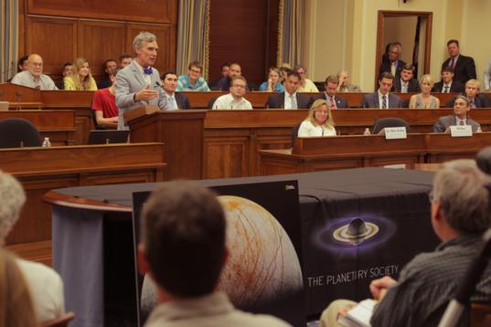 Bill Nye on Capitol Hill