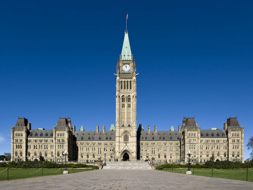 Canadian Parliament Centre Block building