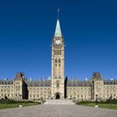Canadian Parliament Centre Block building