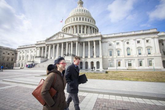 Planetary Society members at the U.S. Capitol
