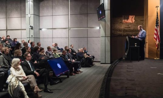 NASA Administrator Jim Bridenstine Addresses Members of The Planetary Society